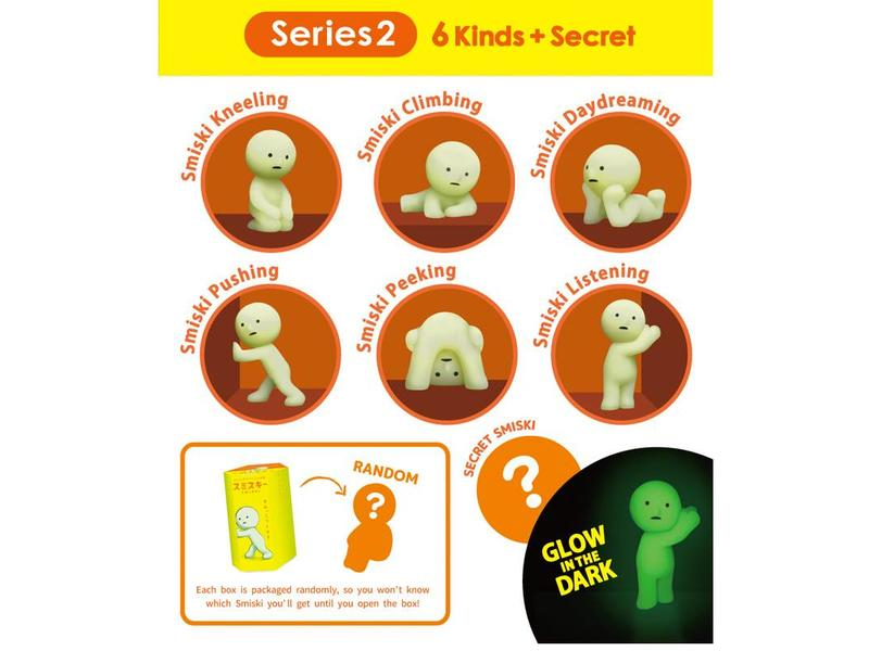Smiski Glow in The Dark (series 2)