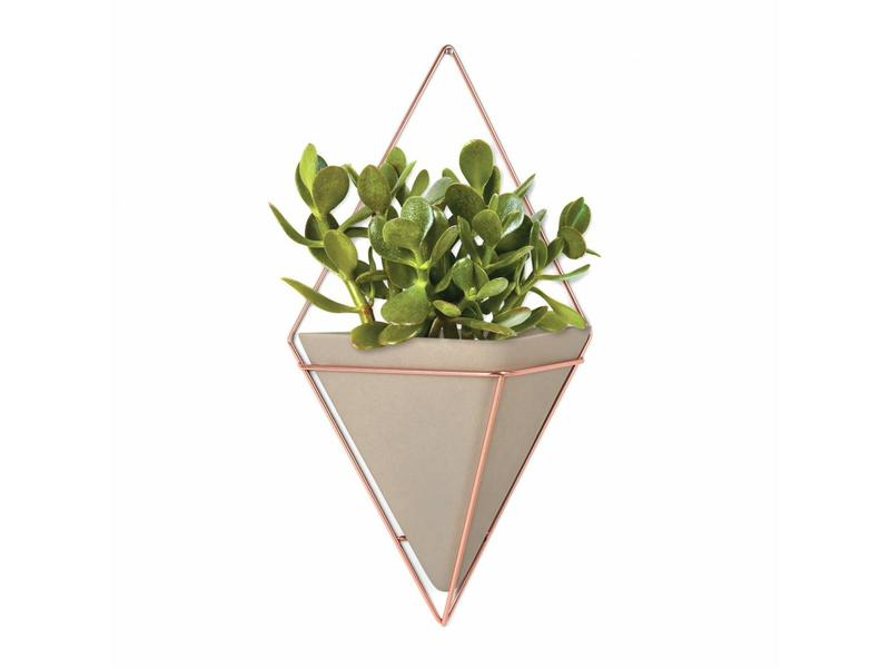 Umbra Wall Vessel 'Trigg' XL (copper/beton)