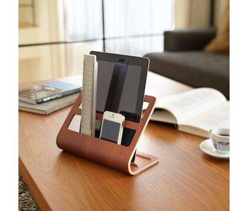 Houder voor  Tablet & Smartphone 'Rin' (bruin)