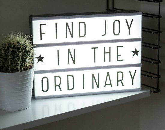 LightBox: the perfect gift that makes everyone happy!