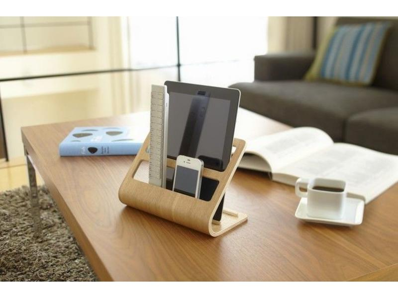 Yamazaki  Houder voor  Tablet & Smartphone 'Rin' (natuur)