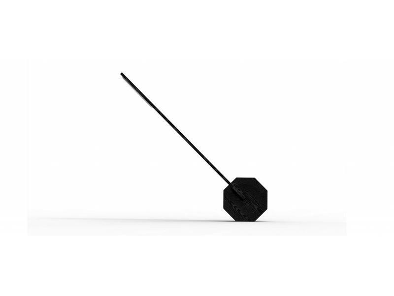 Gingko Desk Lamp 'Octagon One' (black)