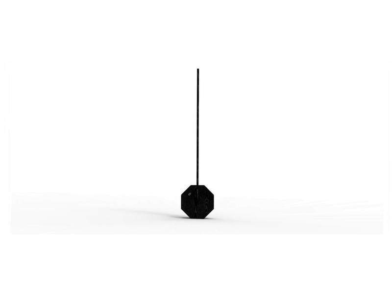 Gingko Lampe de Bureau 'Octagon One' (noir)