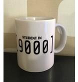 Tasse 'Student in 9000'