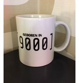 Urban Merch Mug 'Geboren In 9000'