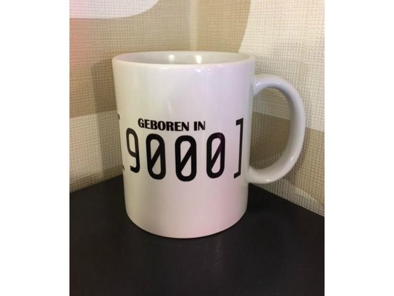 Tasse 'Geboren In 9000'