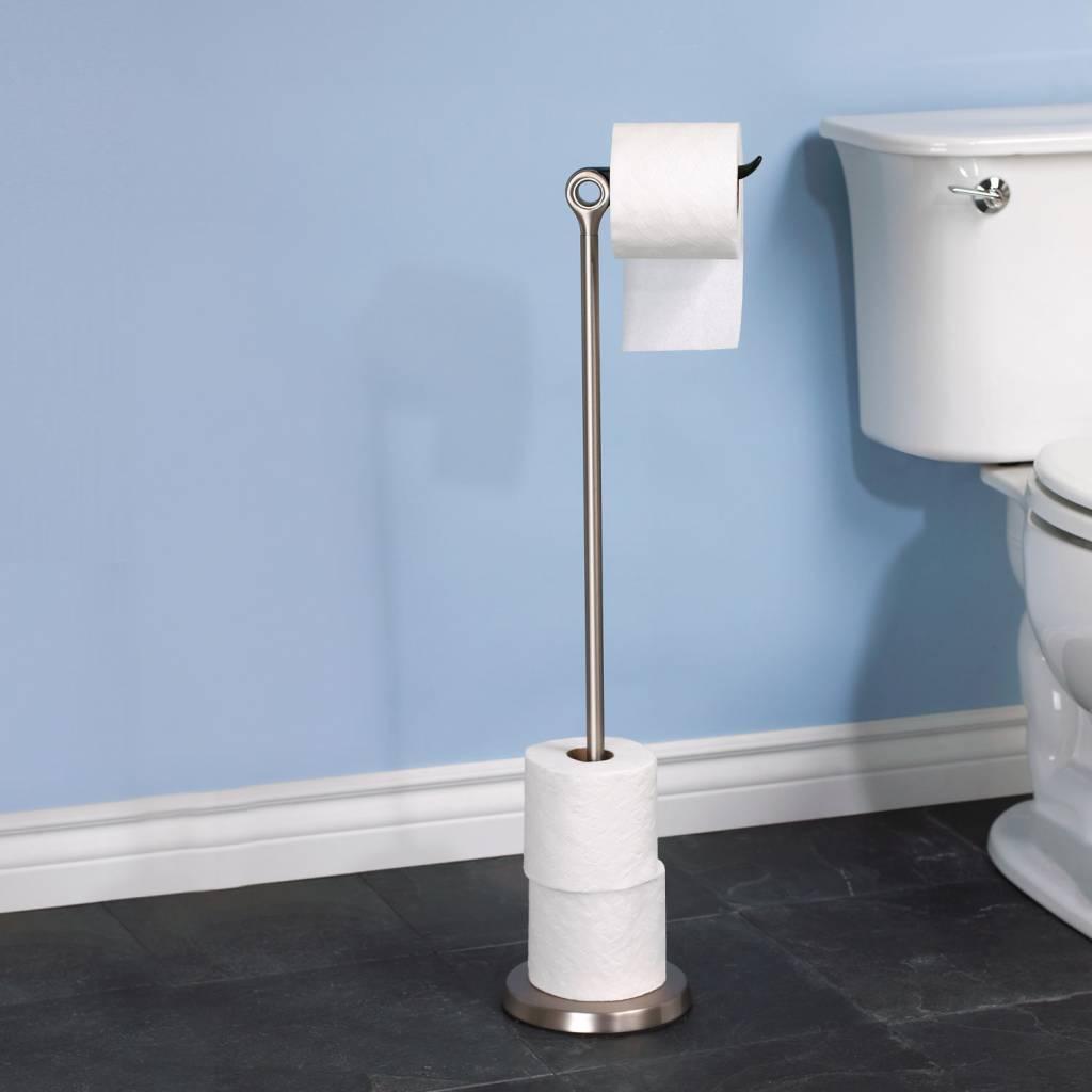 Interior design toilet paper stand 39 tucan 39 umbra for Design your own toilet paper