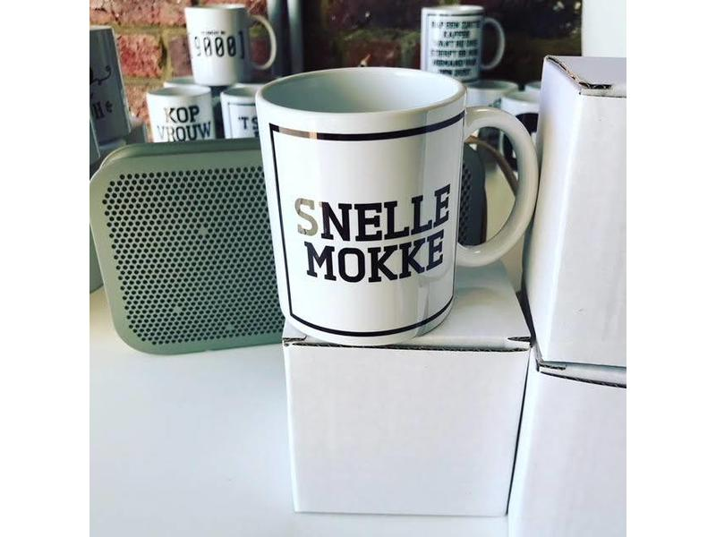 Urban Merch Mug 'Snelle Mokke'