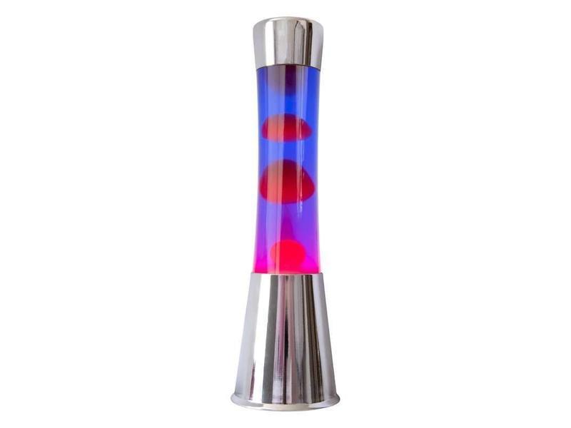Fisura Lampe à Lave (chromé/rouge/violet)
