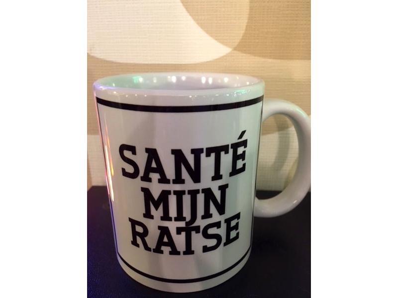 Urban Merch Mug 'Santé Mijn Ratse'