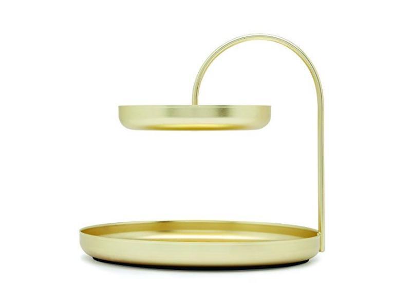 Umbra Accessoire Houder 'Poise' (goud)