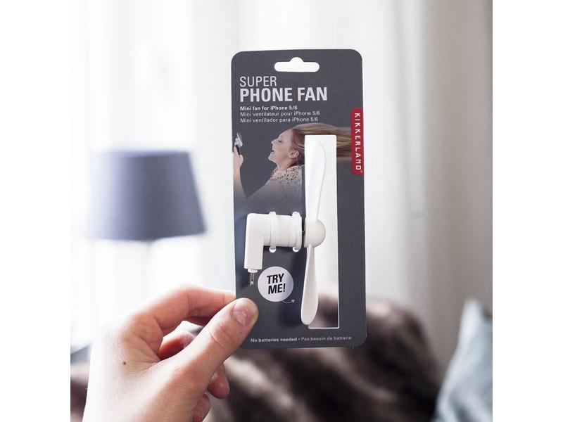 Kikkerland iPhone Ventilating Fan