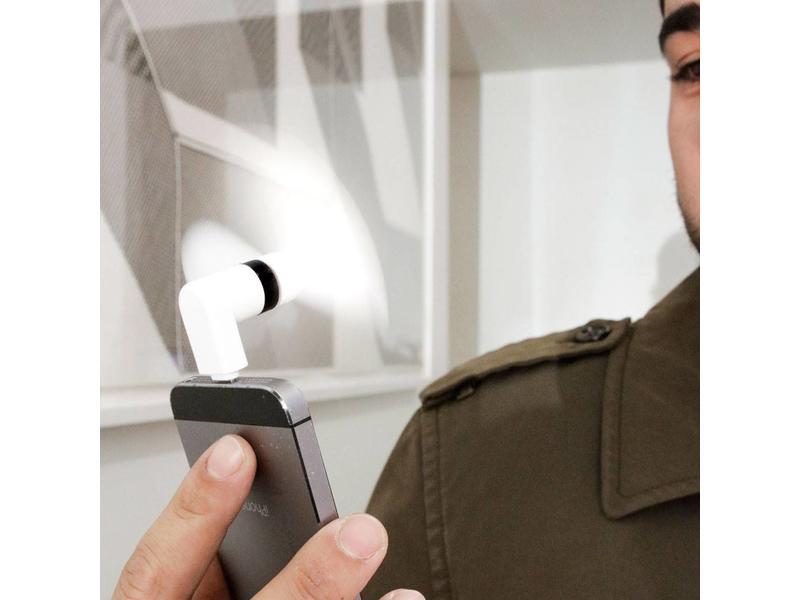 Kikkerland iPhone Ventilateur