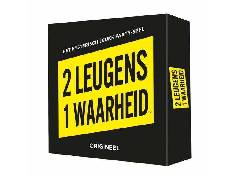 Koelkastpoëzie Party Game '2 Leugens 1 Waarheid'