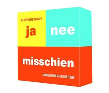 Party Game 'Ja Nee Misschien'
