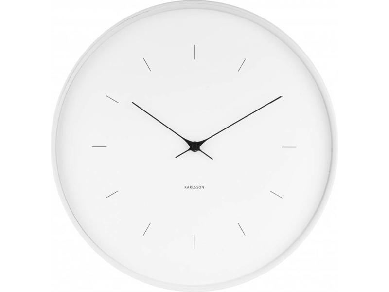 Karlsson Wall Clock 'Butterfly Hands' (large)