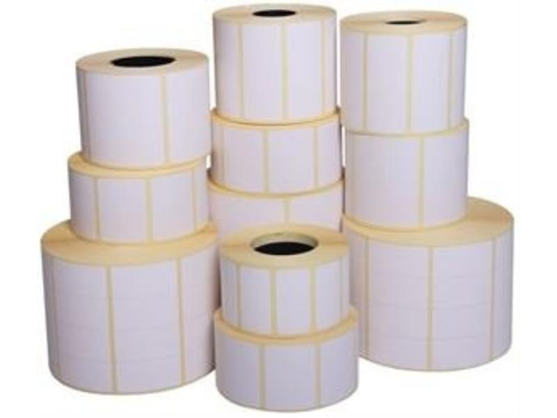 12 rollen a 1400 labels - 80x26mm (afneembaar)