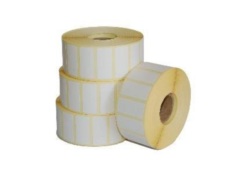 12 rollen van 3500 labels - Vellum - permanent