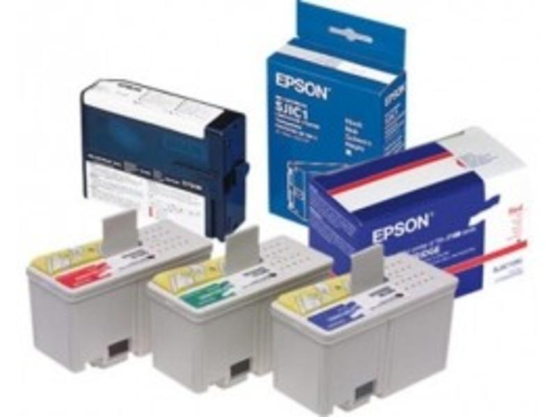 Epson cartridge, cyaan