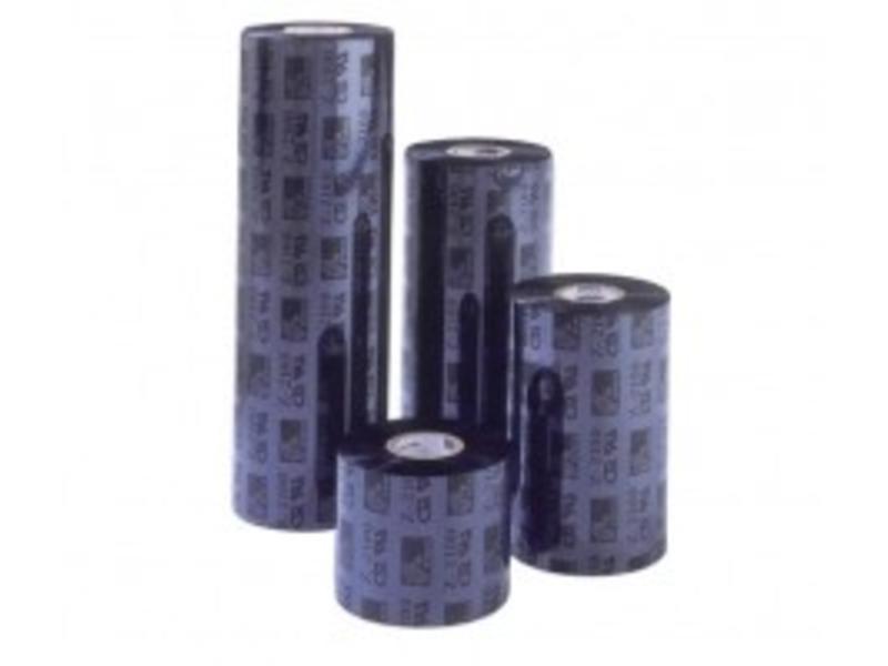 ARMOR thermisch transfer lint, APR 5 wax/hars, 110mm, wit