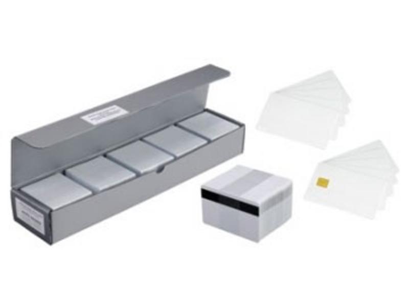 Zebra Plastic kaart, HiCo, 500stuks.