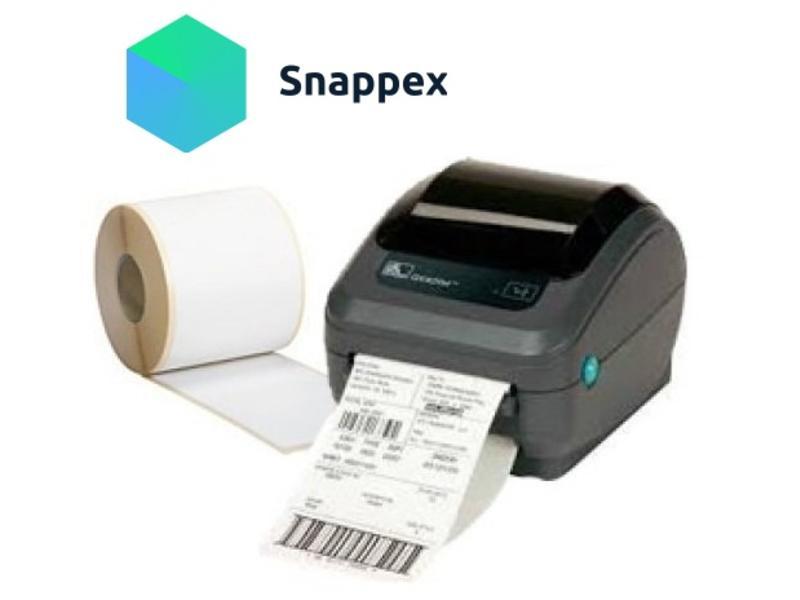 Verzendetiketten voor Snappex klanten