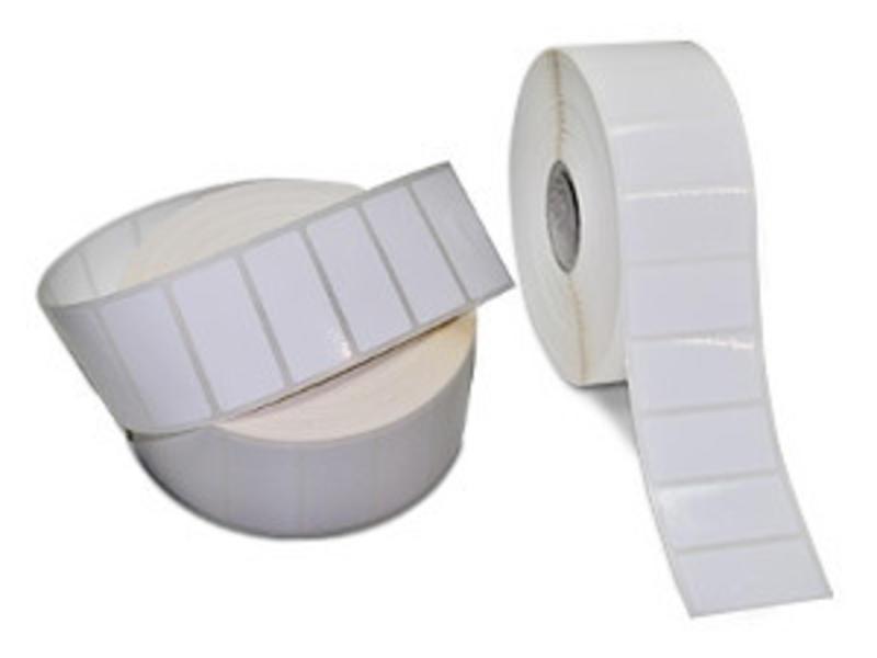 100x60 mm - Kunstof - PE Glossy - extra permanent - 2500 labels per rol