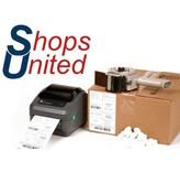 Shops United - Labelprinters en verzendetiketten