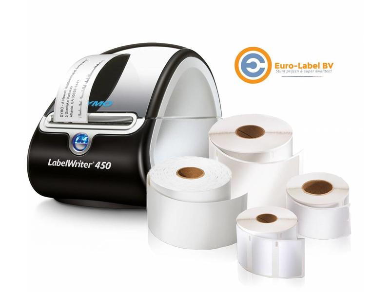 Gratis Dymo 450 LabelWriter bij afname van 2 dozen labels