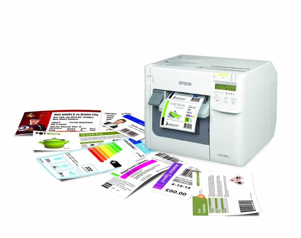 Mooie gekleurde etiketten voor jouw producten of tickets!
