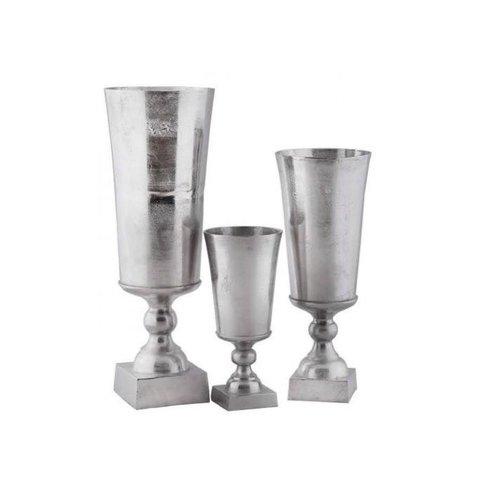 Vase Long mit Fuss
