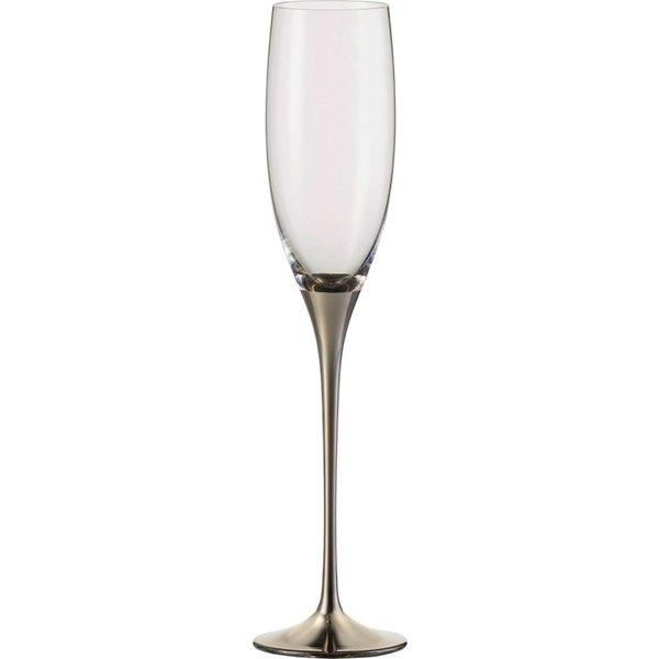 EISCH  Sektgläser Champagner Exklusiv platin - 2 Stück im Geschenkkarton