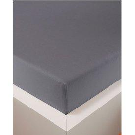 Bellana bellana® de Luxe Spannbetttuch/Fixleintuch Jersey mit Elastan, samtweich grau