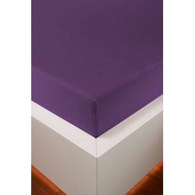 Bellana bellana® de Luxe Spannbetttuch/Fixleintuch Jersey mit Elastan, samtweich violett