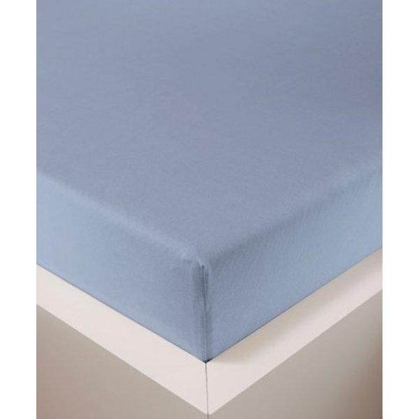 Bellana bellana® de Luxe Spannbetttuch/Fixleintuch Jersey mit Elastan, samtweich hellblau