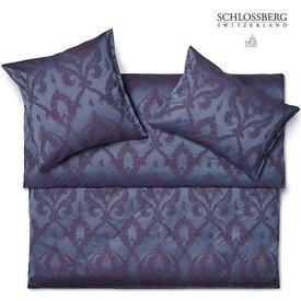 SCHLOSSBERG Schlossberg Bettwäsche PORTOBELLO, blau