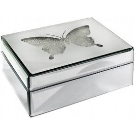 Schmuckkasten Ascot  Kristalleffekt Spiegel von Kaheku