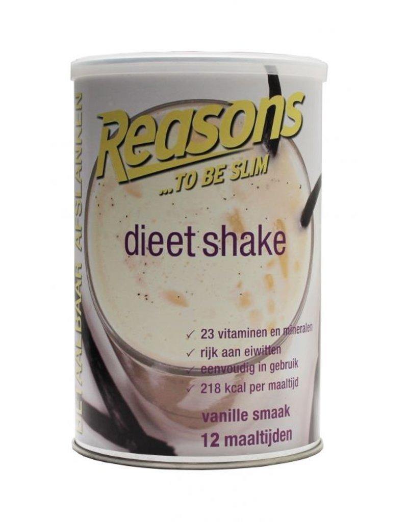 Reasons Dieet Shake Vanille