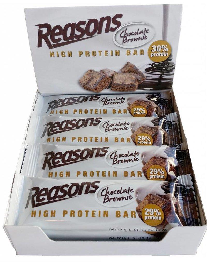 12x Reasons High Protein Bar Chocolate Brownie