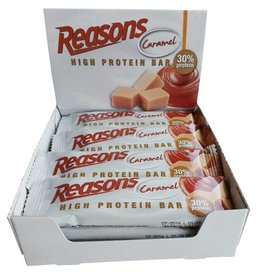 12x Reasons High Protein Bar Caramel