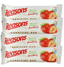 12x Reasons L-carnitine Bar Yoghurt Aardbei