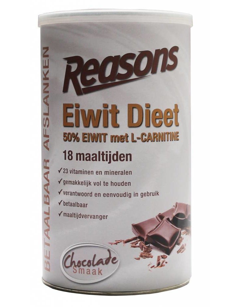 Eiwit dieet chocolade