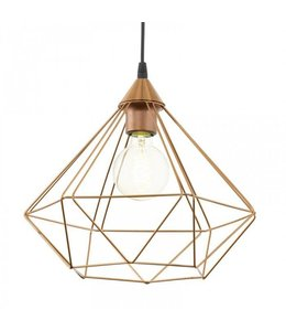 Lamp koperkleur