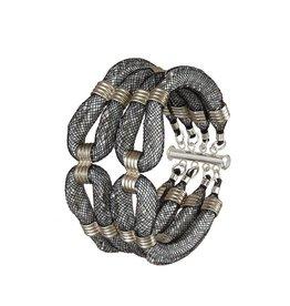 Karelian Silver Double Clove Cuff
