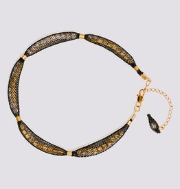 Topaz Gold Black Bracelet