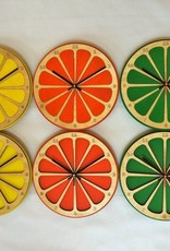 Lime Citrus Clock
