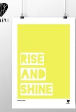 'Rise And Shine' A3 Digital Framed Print