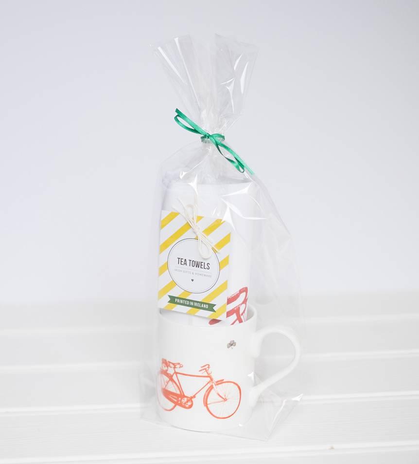 Old Irish Bicycle Gift Set