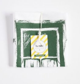 Irish Cottage Window Tea Towel