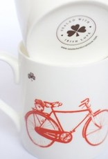 Old Irish Bicycle Mug